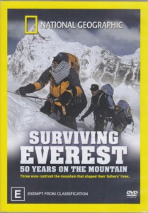 dvd surviving everest 50 years of mountain film pendakian gunung